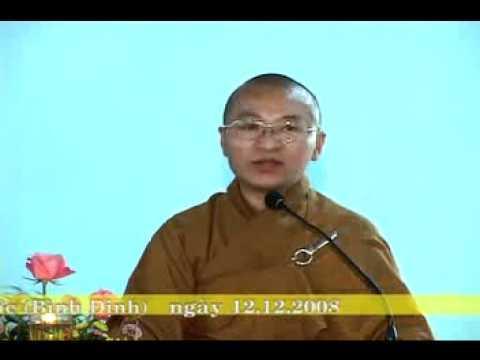 Giá Trị Quán Tưởng Trong Niệm Phật - Phần 1/2 (11/12/2008) video do Thích Nhật Từ giảng