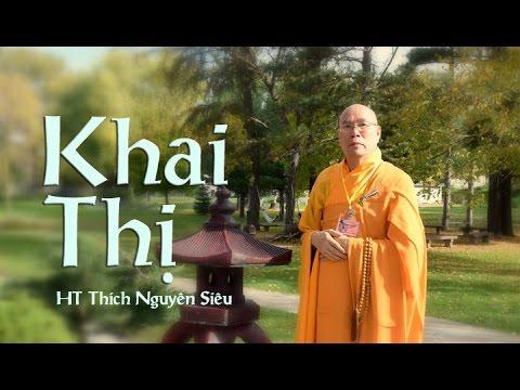 Khai Thị