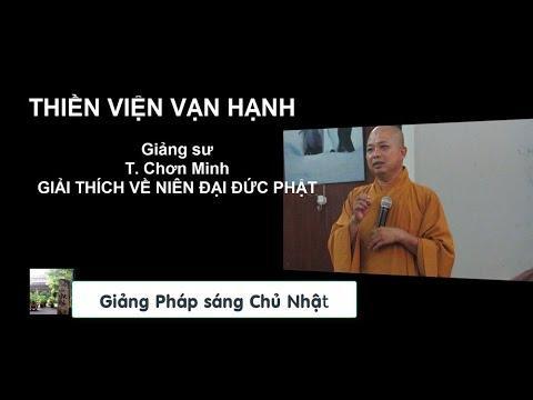 Giải thích về niên đại của đức Phật