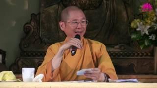Trả lời câu hỏi Khóa Thiền Từ Tân ngày 23/4/2017