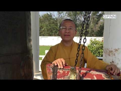 Hành hương Phật tích- Hồng chung tại Nhà tưởng niệm Tam tạng Huyền Trang - TT. Thích Nhật Từ