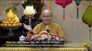 Thích Hạnh Tuệ | Phật Học Phổ Thông - Thất Bồ Đề Phần