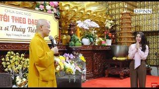 TT. Thích Nhật Từ có đôi lời nhận xét về ca sĩ Thủy Tiên trong Talkshow Vì sao tôi theo đạo Phật