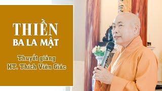 Thiền Ba La Mật