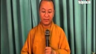 Phương Pháp Nghiên Cứu 04: - Phân Tích Đề Cương Luận Văn (27/07/2012) video do Thích Nhật Từ giảng