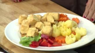 Món chay 108 - Đậu hũ hầm dừa