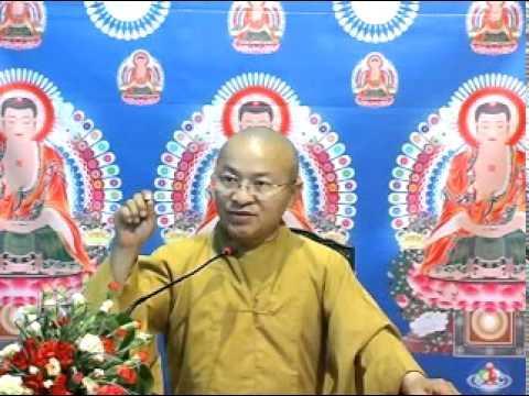 Kinh Bách Dụ 05 (bài 19-23): Bỏ mê tín, theo nhân quả (16/04/2011) video do TT. Thích Nhật Từ giảng