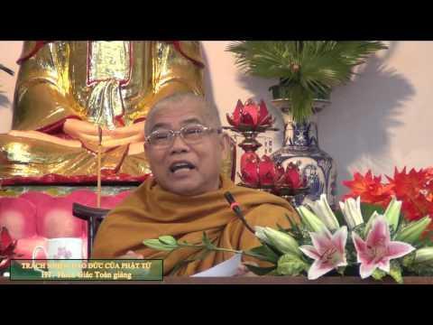 Trách nhiệm đạo đức của người Phật tử