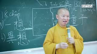 HẠT GIỐNG VÀ TÍNH CÁCH CON NGƯỜI | Thành duy thức luận 2021| Bài 8 | TT. Thích Nhật Từ
