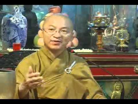 Ý nghĩa quy y Tam Bảo - phần 1/2 (28/05/2010) video do Thích Nhật Từ giảng