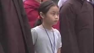 Tăng thân Làng Mai tại Vesak 2008 - Thiền hành tại Hồ Gươm