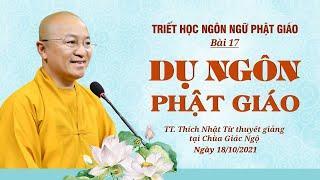 DỤ NGÔN PHẬT GIÁO | Triết học ngôn ngữ Phật giáo | Bài 17