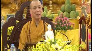Hòa thượng Thích Bảo Nghiêm khai pháp mùa an cư kiết hạ năm 2016 tại trường hạ chùa Đại Từ Ân - HN