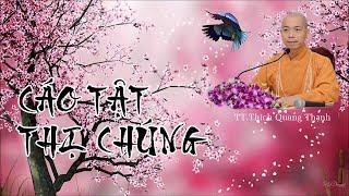 CÁO TẬT THỊ CHÚNG - TT. Thích Quang Thạnh - Mãn Giác Thiến Sư Xá Lợi