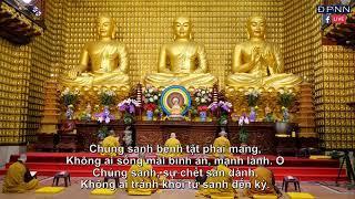 Tụng Kinh Dược Sư tại Chùa Giác Ngộ, ngày 10 - 04 - 2020