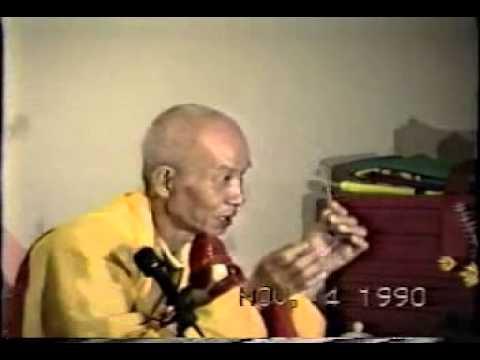 Video3 - 12/23 Khối nghi tình có bùng vỡ không? - Thiền sư Duy Lực