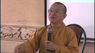 Thành Duy Thức Luận 01: Giới Thiệu Thành Duy Thức Luận (25/09/2012) video do Thích Nhật Từ giảng