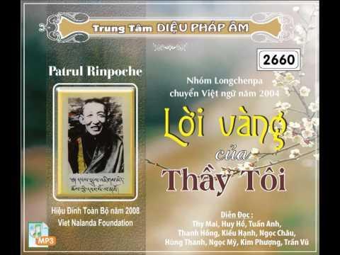 Lời Vàng Của Thầy Tôi (Tác Giả: Patrul Rinpoche) (Trọn Bài, 17 Phần)