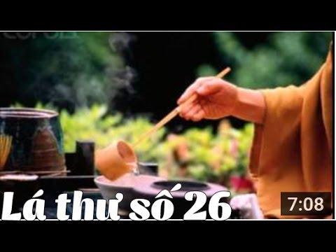 Thư Thầy Trò - Thư số 26 - Thái độ tu tập và trạng thái kinh nghiệm