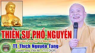 186.Thiền Sư Nam Tuyền Phổ Nguyện | TT Thích Nguyên Tạng giảng