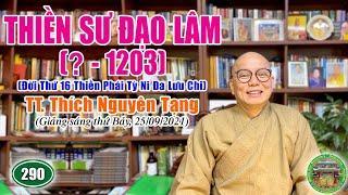 290 . Thiền Sư Đạo Lâm (? - 1203), đời 16, Thiền Phái Tỳ Ni Đa Lưu Chi   TT Nguyên Tạng giảng
