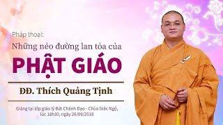 Những nẻo đường lan tỏa của Phật giáo