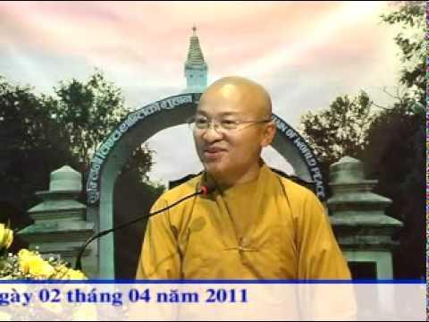 Kinh Bách Dụ 04 (Bài 14-18): Do hiểu sai nhân quả (02/04/2011) video do TT. Thích Nhật Từ giảng