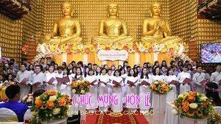 Ca khúc: CHÚC MỪNG HÔN LỄ - Ban đạo ca chùa Giác Ngộ 27-12-2019