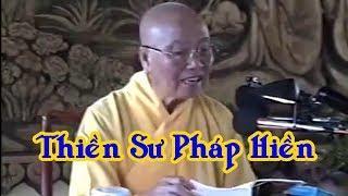 Thiền sư Pháp Hiền