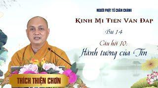 Kinh Mi Tiên: Câu 10. Hành tướng của Tín