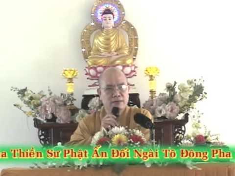 PHTH 180: Thiền sư Phật Ấn dạy Tô Đông Pha