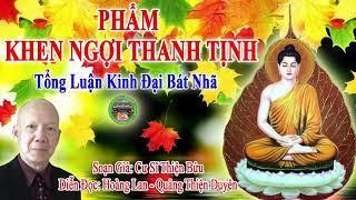 Phẩm Khen Ngợi Thanh Tịnh |Tổng Luận Đại Bát Nhã