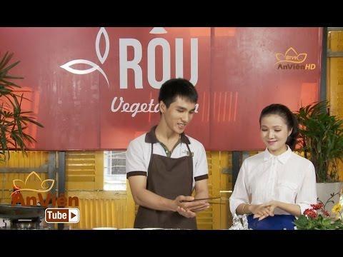 Bếp Chay: Đậu hũ nướng giấy bạc