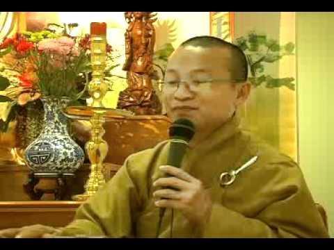 Hạnh Phúc Trong Già Và Chết - Phần 1/2 (12/07/2007) video do Thích Nhật Từ giảng