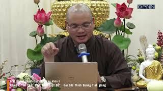 """""""Sự thật diệt Khổ - Diệt Đế"""" - Đại đức Thích Quảng Tịnh giảng tại chùa Giác Ngộ ngày 30/03/2021"""