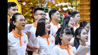 THỜI THIỀN CA trong khóa tu Tuổi Trẻ Hướng Phật tại chùa Giác Ngộ, ngày 08-11-2020