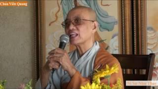Ni Sư Như Thủy chia sẻ Phật Pháp - P.2