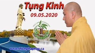 Tụng Kinh ngày 09.05.2020 - Thầy Thích Pháp Hòa
