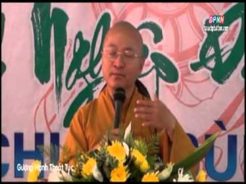 Quy Sơn Cảnh Sách 05: Gương Hạnh Thoát Tục (19/07/2012) video do Thích Nhật Từ giảng