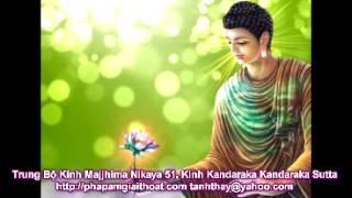 Kinh Majjhima Nikaya, Kinh Kandaraka Sutta (Trung Bộ Kinh)