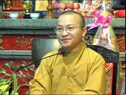Sống hạnh phúc - Chết thanh thản (10/02/2011) video do TT. Thích Nhật Từ giảng