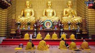 Tụng Kinh Dược Sư tại chùa Giác Ngộ, ngày 03/04/2020