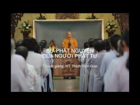 Sự phát nguyện của người Phật tử