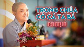 Ni sư TN. Hương Nhũ thuyết giảng trong khóa tu XUẤT GIA GIEO DUYÊN LẦN THỨ 7