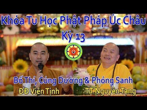 Bố Thí, Cúng Dường & Phóng Sanh