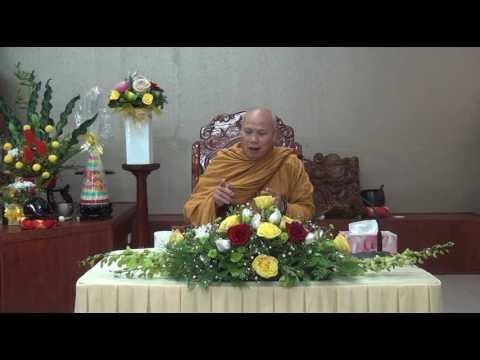 Kinh Pháp Cú Phẩm Phật Đà 03 giảng 03-07-2016