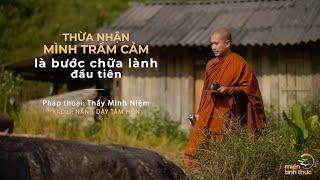 Thầy Minh Niệm   Thừa nhận mình trầm cảm là bước chữa lành đầu tiên