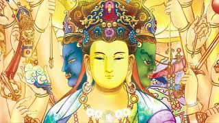 """Nhạc """"Chú Kim Cang Tát Đỏa"""" - Om Vajra Sattva Hum (Om Benza Satto Hum) (Tiếng Phạn) (Rất Hay)"""