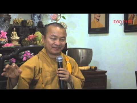 Tư cách và sự tu học của Phật tử tại gia (07/01/2014) - video Thích Nhật Từ giảng