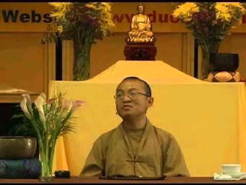 Tứ vô lượng tâm 1A: Từ bi (24/06/2007) video do Thích Nhật Từ giảng